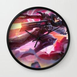 Project Lucian League of Legends Wall Clock