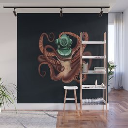 The Diver Wall Mural