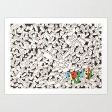 LEGO: Playwell.  Art Print