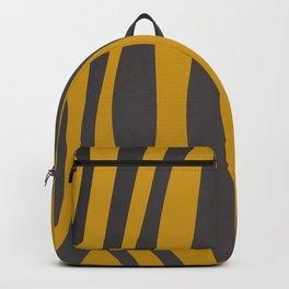 Design tiger Wild lines ethnic chocos Backpack