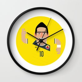 James Rodriguez - Colombia Wall Clock