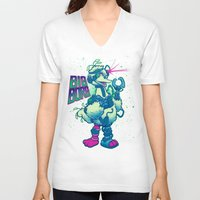 muppet V-neck T-shirts featuring BIG BORG by BeastWreck