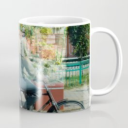 Double Exposure Commuters Coffee Mug