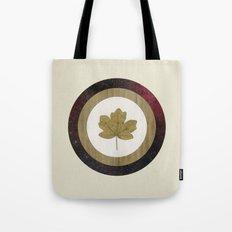 Leaf Space Tote Bag