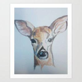 Doe Oh Deer Art Print