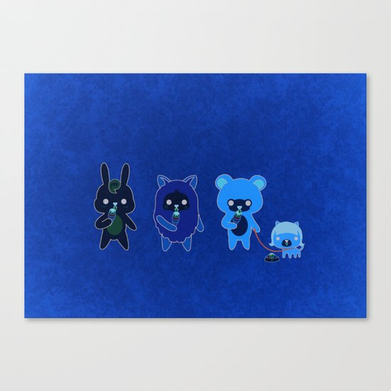 YAMMY ICE CREAM  Canvas Print