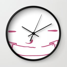The Best Things In Life Aren't Things Wall Clock