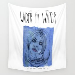 Under The Water Wall Tapestry