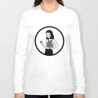 lydia martin Long Sleeve T-shirts featuring Lydia by KITA