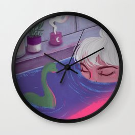 Cryptid Wall Clock