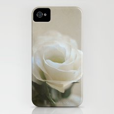 White Lisianthus Slim Case iPhone (4, 4s)