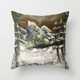 Untitled Imagination 1 Throw Pillow