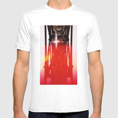 Staring at the sun Mens Fitted Tee White SMALL