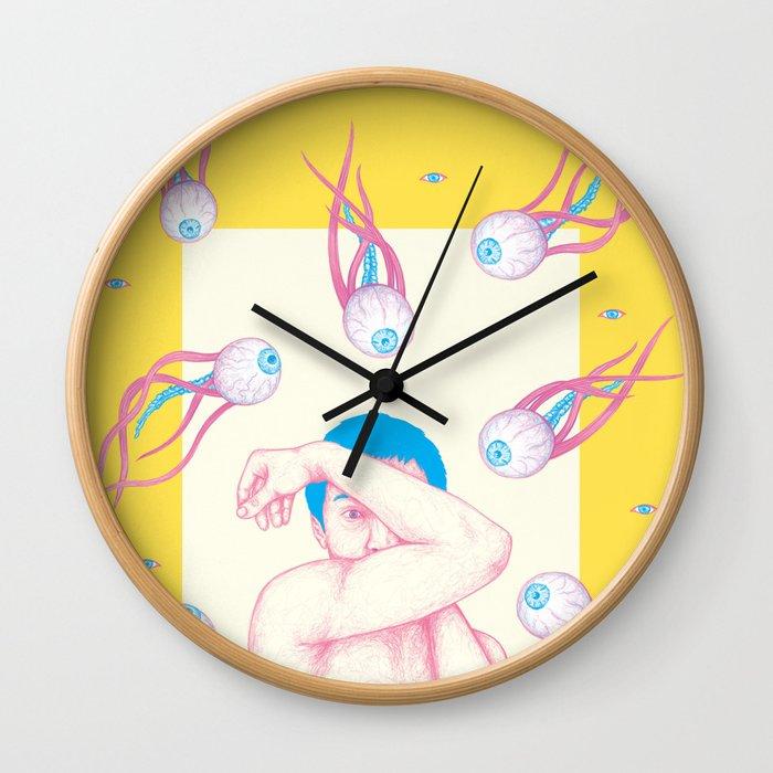 Paranoia Wall Clock