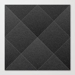 Plush Onyx Black Diamond Canvas Print