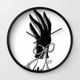 Gloved Wall Clock