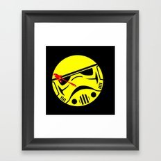who watches the Empire Framed Art Print