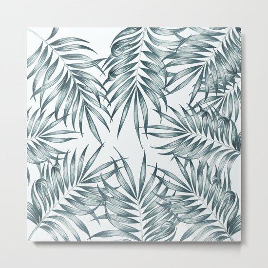 Palm Leaves #society6 #buyart Metal Print