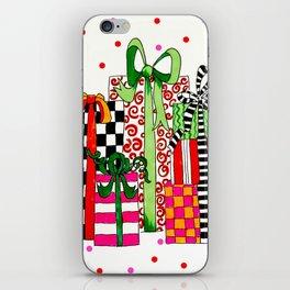 Presents! iPhone Skin