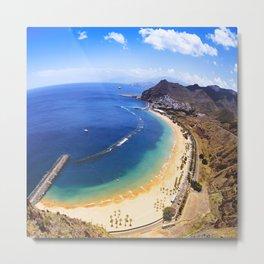 playa de las americas in tenerife Metal Print