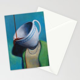 Constant Dribble (tea cup) Stationery Cards