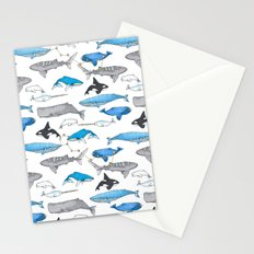 Whale Constellation Stationery Cards