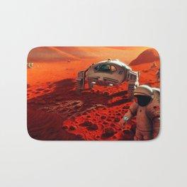 Concept Art of Future Manned Mars Mission Bath Mat