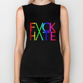 FXCK HXTE - Rainbow Biker Tank