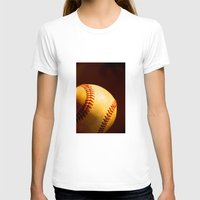 baseball T-shirts featuring Baseball by Janice Sullivan