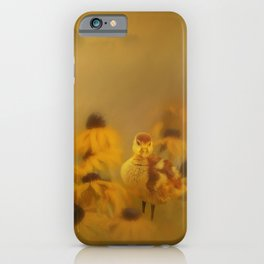 Ugly Ducklings And Daisies iPhone Case