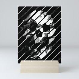 Memory Skull BW Mini Art Print