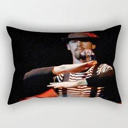 Cirque Performance Art - Gravity Ball Rectangular Pillow
