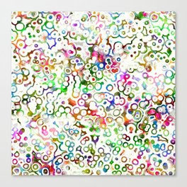 Abstract Microbes Canvas Print
