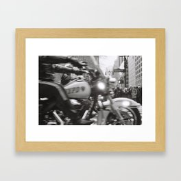 NYPD, West 42nd St Framed Art Print