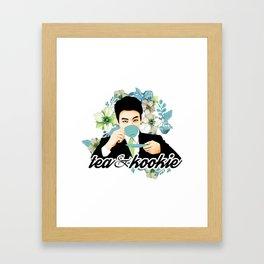 Tea & Kookie Framed Art Print