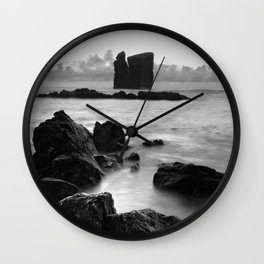 Seascape with islets Wall Clock