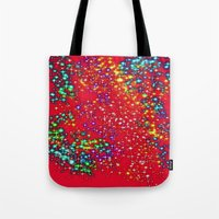 sparkle Tote Bags featuring Sparkle  by Sammycrafts