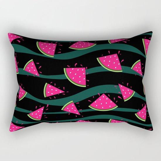 Watermelon slice . Rectangular Pillow