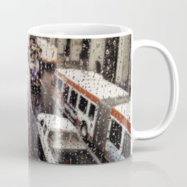 Rainy Rush Hour Coffee Mug