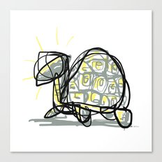 Holy Turtle Canvas Print