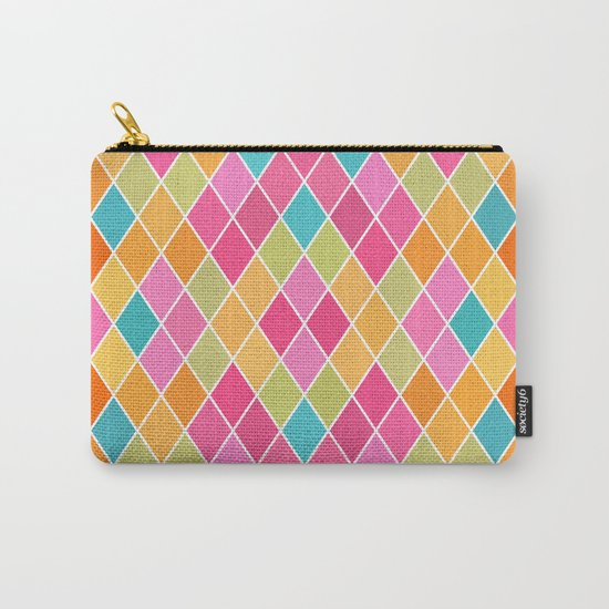 Lovely geometric Pattern VIII Carry-All Pouch