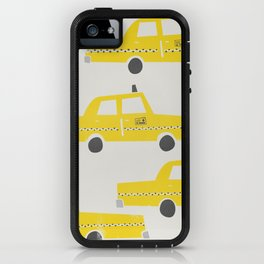 New York Taxicab iPhone Case