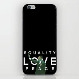 Equality, Love, Peace iPhone Skin