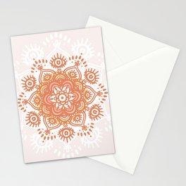 Terracotta Eye Mandala Stationery Cards