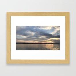 St. Augustine Florida Seascape Framed Art Print
