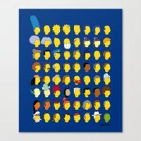Springfield Follicles Canvas Print
