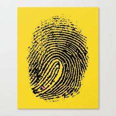 Creative Touch Canvas Print