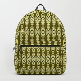 Sacramento Tower Bridge Golden Yellows pattern Backpack