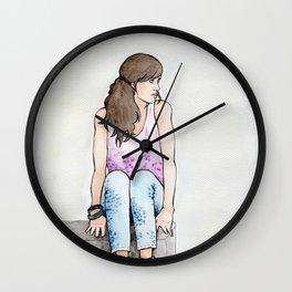 Punky Géraldine Wall Clock
