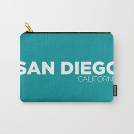 San Diego California Carry-All Pouch